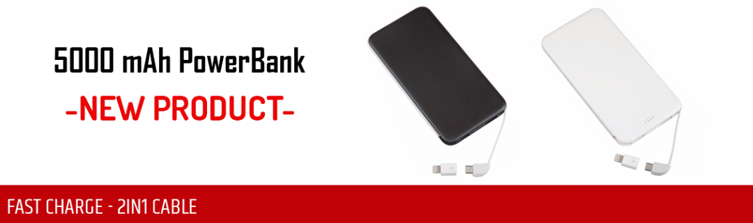 5000 mAh Powerbank - Promotional Powerbank